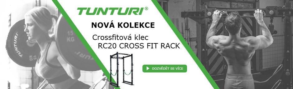 TUNTURI RC20 Cross Fit Rack - multifunkční konstrukce pro crossfitáky