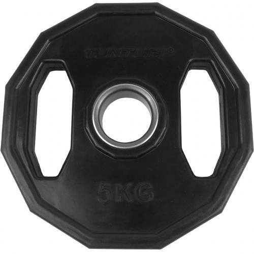 Kotouč olympijský pogumovaný hranatý TUNTURI 5 kg