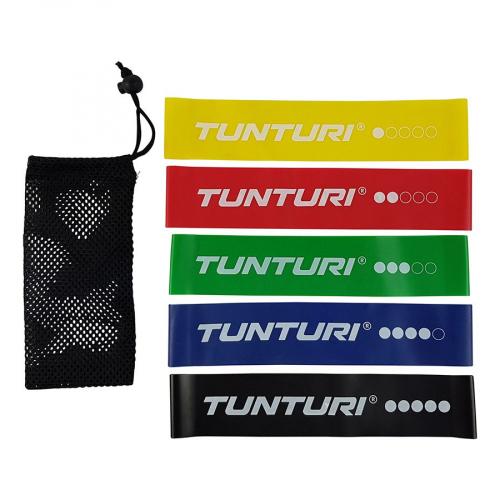 Posilovací guma TUNTURI sada - 5 ks line