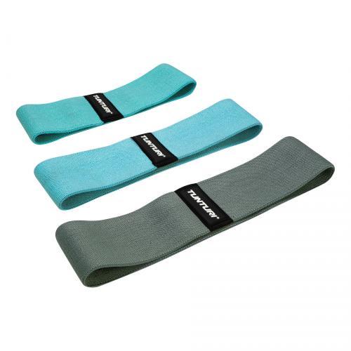 Set textilních odporových gum TUNTURI Booty - 3 kusy