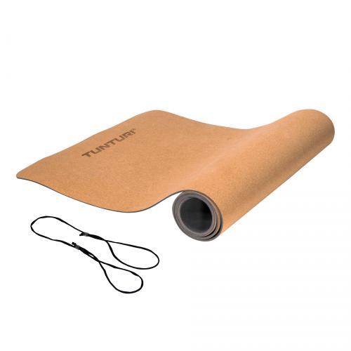 Podložka na jógu - korková TUNTURI Cork TPE Yoga Mat