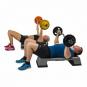 Tunturi činkový set 20 kg Aerobic Pump Set 20 kg cvik 2g