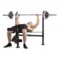 TUNTURI WB60 Olympic Width Weight Bench cvik 2g