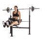 TUNTURI WB60 Olympic Width Weight Bench cvik3g