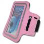 Pažní pouzdro na mobil TUNTURI růžové