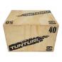 Plyometrická bedna dřevěná TUNTURI Plyo Box boční položení