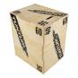 Plyometrická bedna dřevěná TUNTURI Plyo Box na stojato uhel