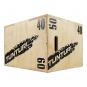 Plyometrická bedna dřevěná TUNTURI Plyo Box uhel 6