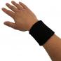Potítko na zápěstí TUNTURI černé pár ruka