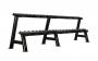 TUNTURI Pro - Stojan jednoručky - Dumbbell Rack dvojitý