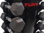 Stojan na činky TUNTURI Dumbbell Tower detail s činkami