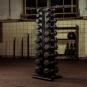 Stojan na činky TUNTURI Pro Tower promo fotka 1