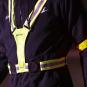 Svítící pásek TUNTURI X-shape LED belt workout