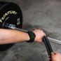 Trhačky TUNTURI PRO Power Lifting Straps workout